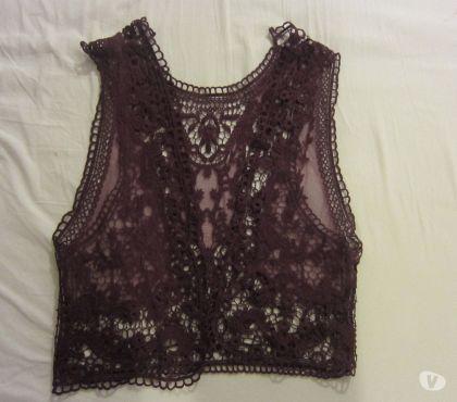 Photos Vivastreet Petite veste de dentelle, violet