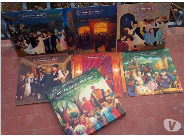 Photos Vivastreet COFFRET 6 vinyles 33 tours - Accordéon parade -