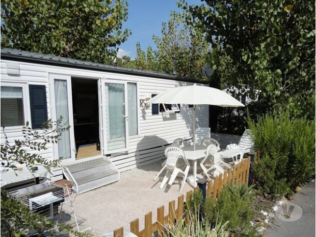 Location mobil home antibes 300m marineland antibes - Camping les jardins de la mer antibes ...