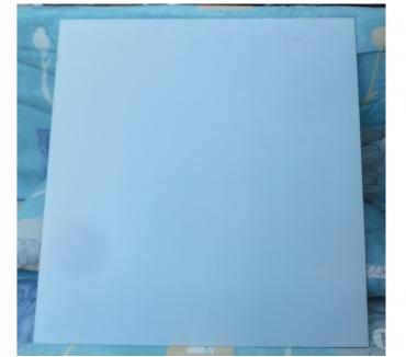 Photos Vivastreet Plaque de verre dépoli en excellent état Frosted glass plate