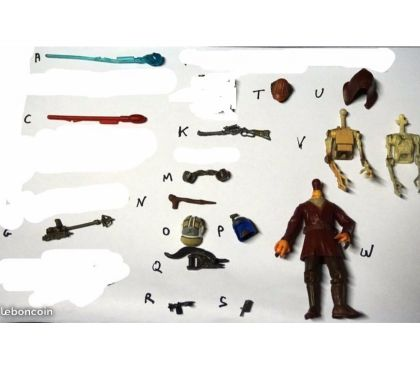 Photos Vivastreet armes figurines star wars 10cm 4