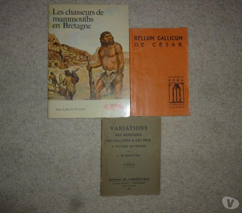 Photos Vivastreet Divers livres d'histoire