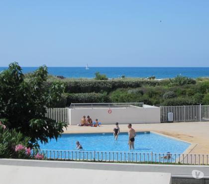 Photos Vivastreet Cap d'Agde appartement en face plage de Rochelongue