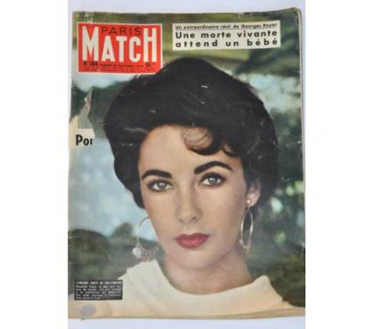 Photos Vivastreet Paris Match n°394 du 27 Octobre 1956