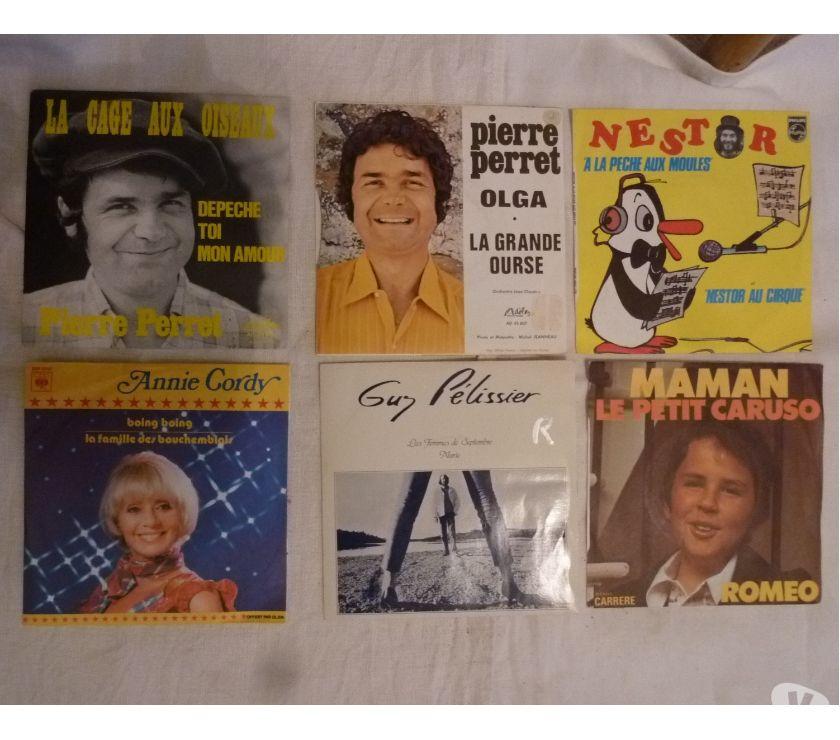 Photos Vivastreet Vinyles 45t Perret-Nestor-Romeo-Pelissier-Cordy