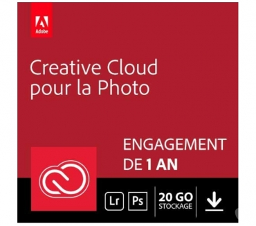 Photos Vivastreet Suite logicielle Adobe Creative Cloud pour la photo
