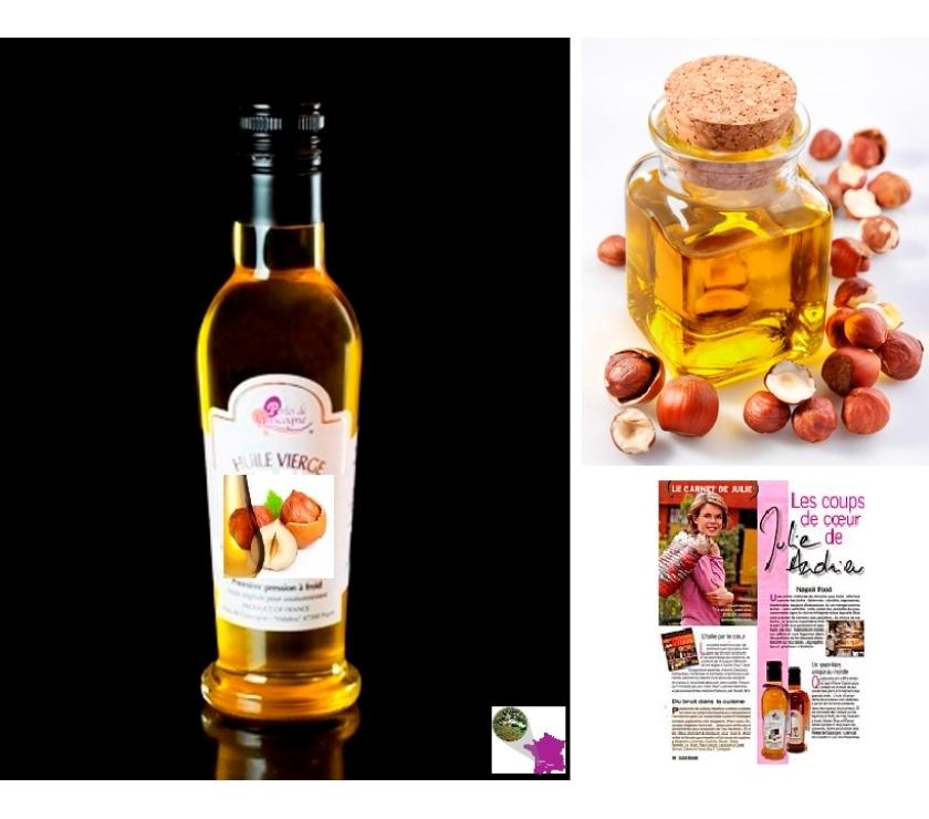 Vins - Gastronomie Gironde Bordeaux - Photos Vivastreet Huile de Noisette 100% Extra Vierge 25Cl Variété Française