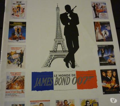Photos Vivastreet Livret sur James BOND
