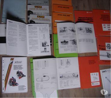 Photos Vivastreet manuels ateliers forêt jardin motoculture tronçonneuse etc..