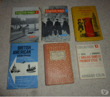 Photos Vivastreet 5 livres scolaires d'anglais