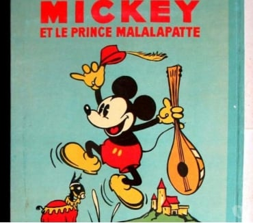 Photos Vivastreet Mickey et le prince Malalapatte