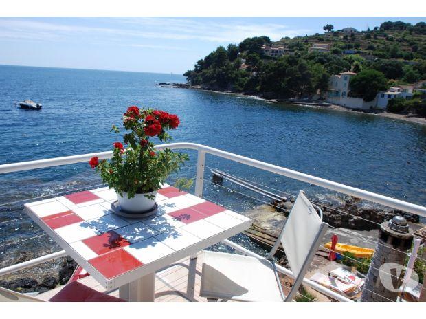 Photos Vivastreet Côte d'Azur villa pieds dans l'eau + bateau 2500€ semaine