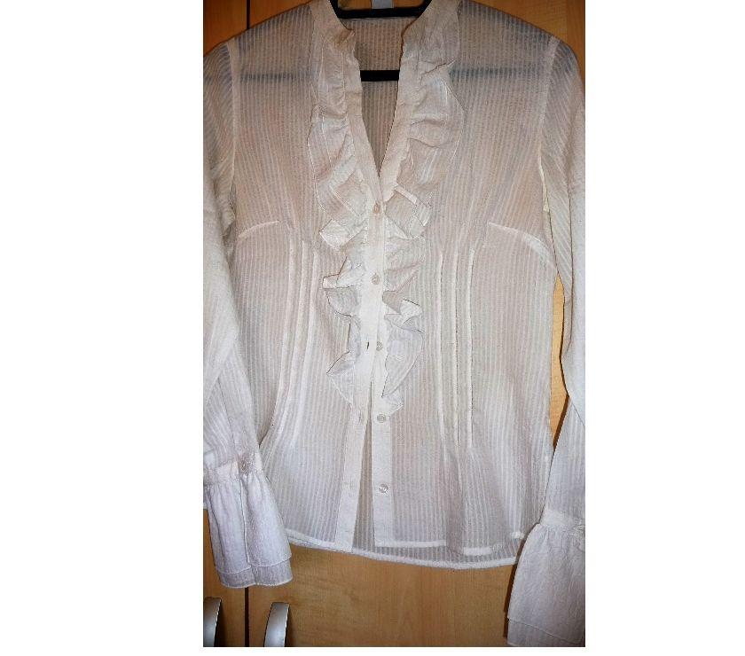 "Vêtements occasion Alpes-Maritimes Nice - Photos Vivastreet Chemisier Cotton ""Camaïeu"""