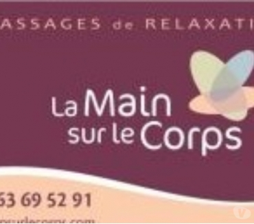 Photos Vivastreet Massages longs de relaxation : La Main sur le Corps