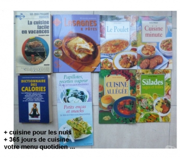Photos Vivastreet livres de cuisine et travaux manuels - zoe