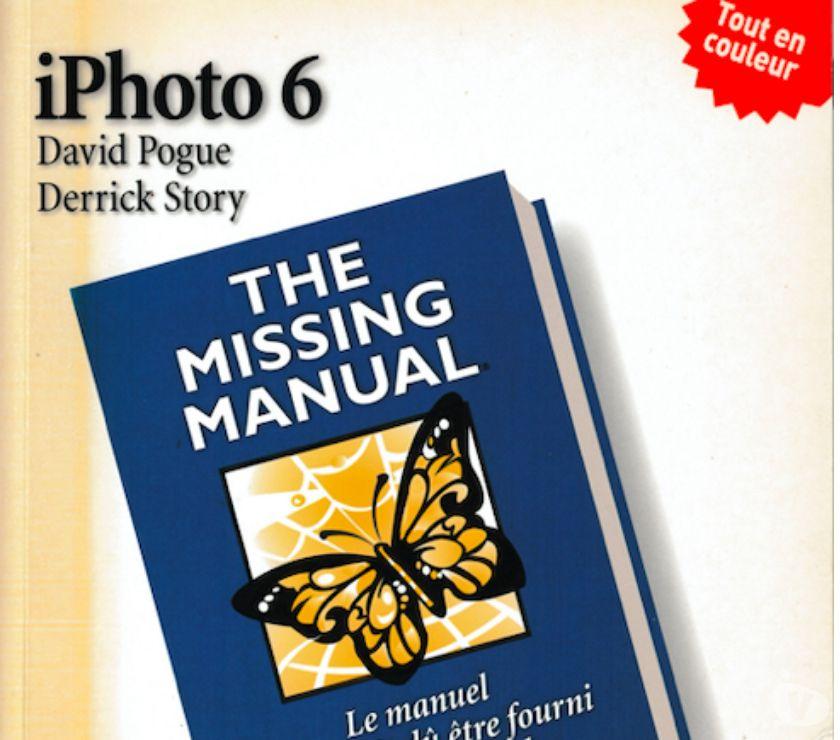 Photos Vivastreet Livre: Iphoto 6 - Le manuel pour le logiciel Apple