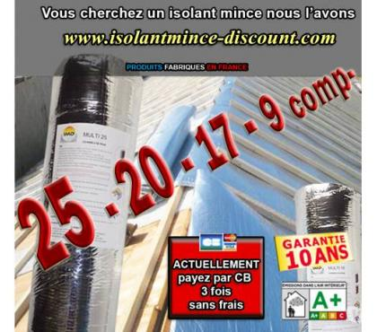 Photos Vivastreet LOT 255m² ISOLANT MINCE 20 composants