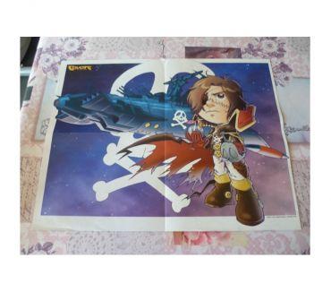 Photos Vivastreet PosterS Albator Bataille planète Captain Harlock manga japon