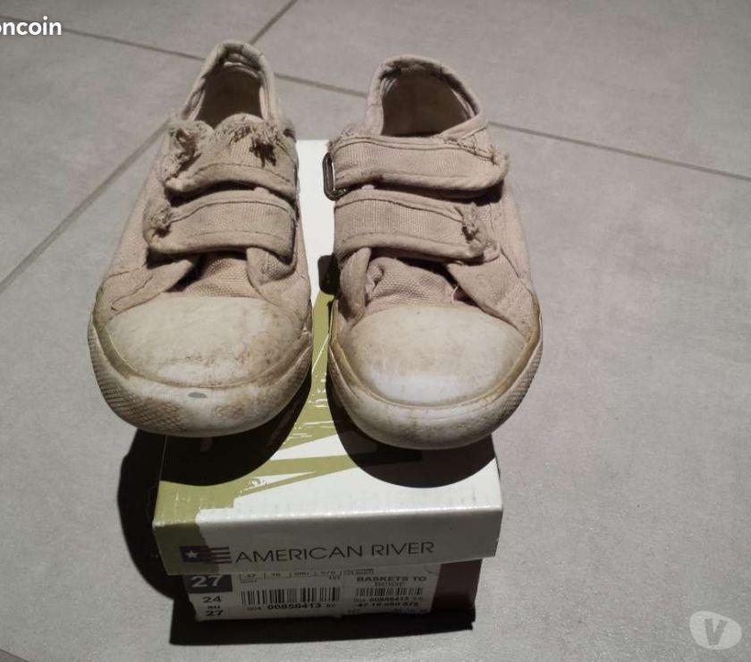 Chaussures Puy-de-Dôme Clermont Ferrand - Photos Vivastreet Basket en toile pointure 27