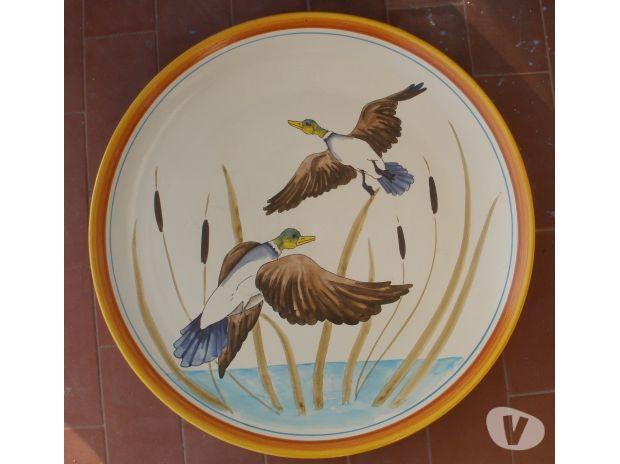 Photos Vivastreet Plat ceramique IL PENNY, Ø 41 cm, oies sauvages