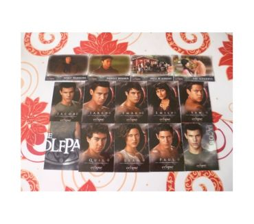 Photos Vivastreet LOT Cartes twilight loup jacob ciné film edward bella quileu