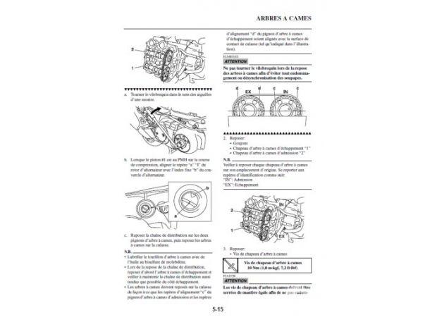 manuel d u0026 39 atelier yamaha tmax 500 - 2012