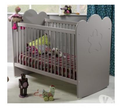 Photos Vivastreet Lit bébé barreaux lin 60x120