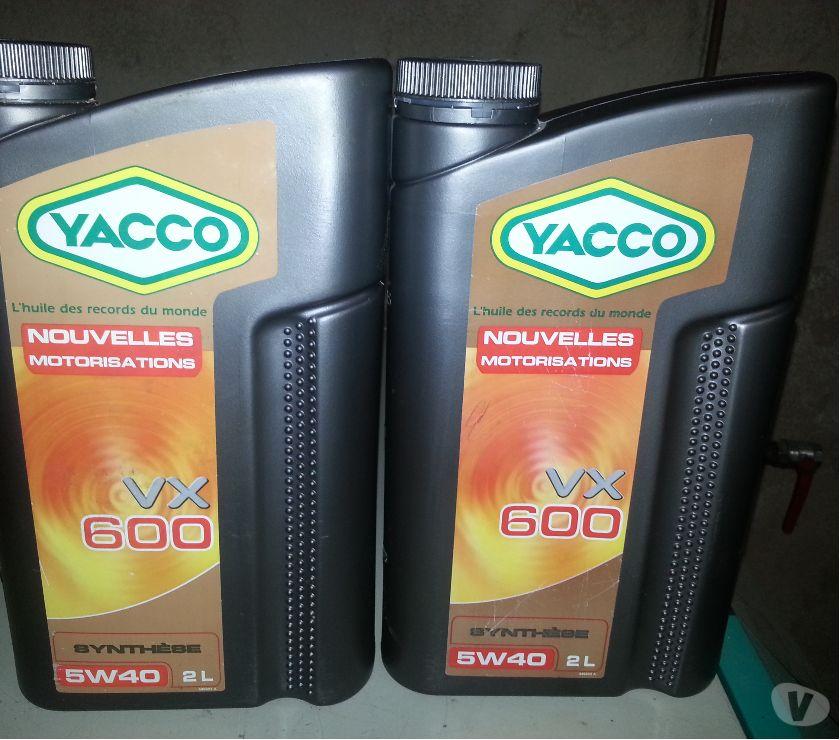 Photos Vivastreet Huile YACCO VX600 Synthèse 5W40