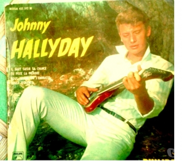 Photos Vivastreet Johnny Hallyday 45T ORIGINAL