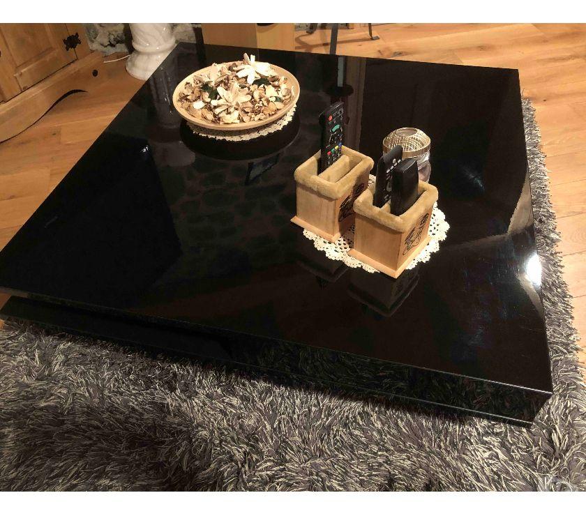 Ameublement & art de la table Isère Allevard - 38580 - Photos Vivastreet Table basse brillant noir 95x95 cm