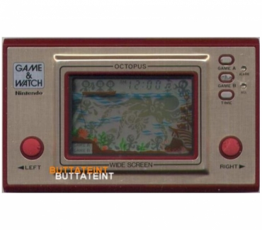 Photos Vivastreet LCD GAME & WATCH NINTENDO OC-22 SEUL - OCTOPUS