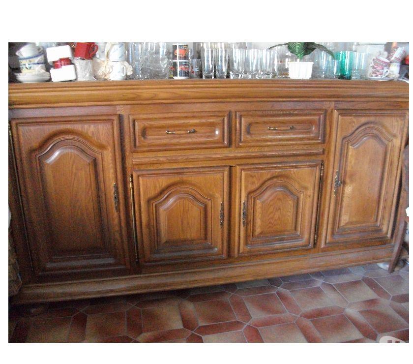 Ameublement & art de la table Bas-Rhin Bouxwiller - 67330 - Photos Vivastreet Buffet 4 portes + tiroirs en chêne massif