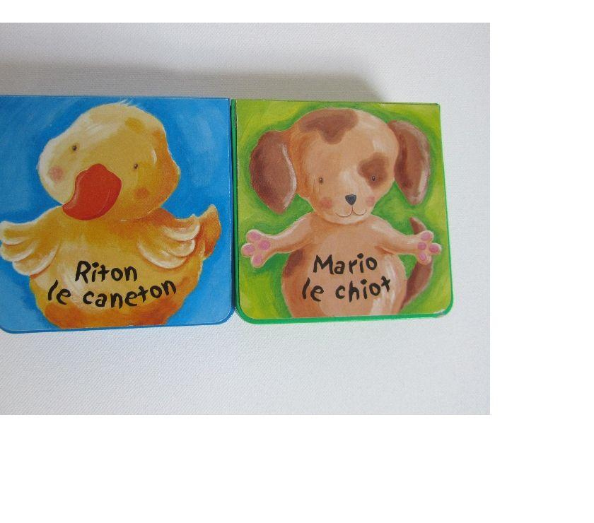 """Photos Vivastreet Lot de 2 livres """"Les Maxipattes"""" : Riton le caneton, Mario"""