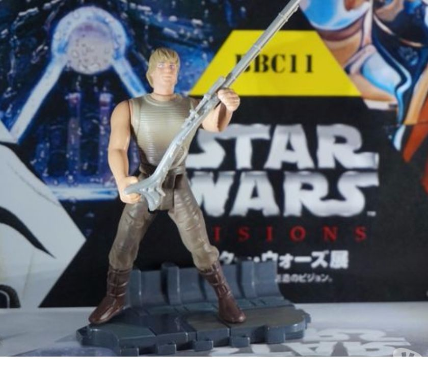 Photos Vivastreet figurine star wars luke skywalker attack tusken
