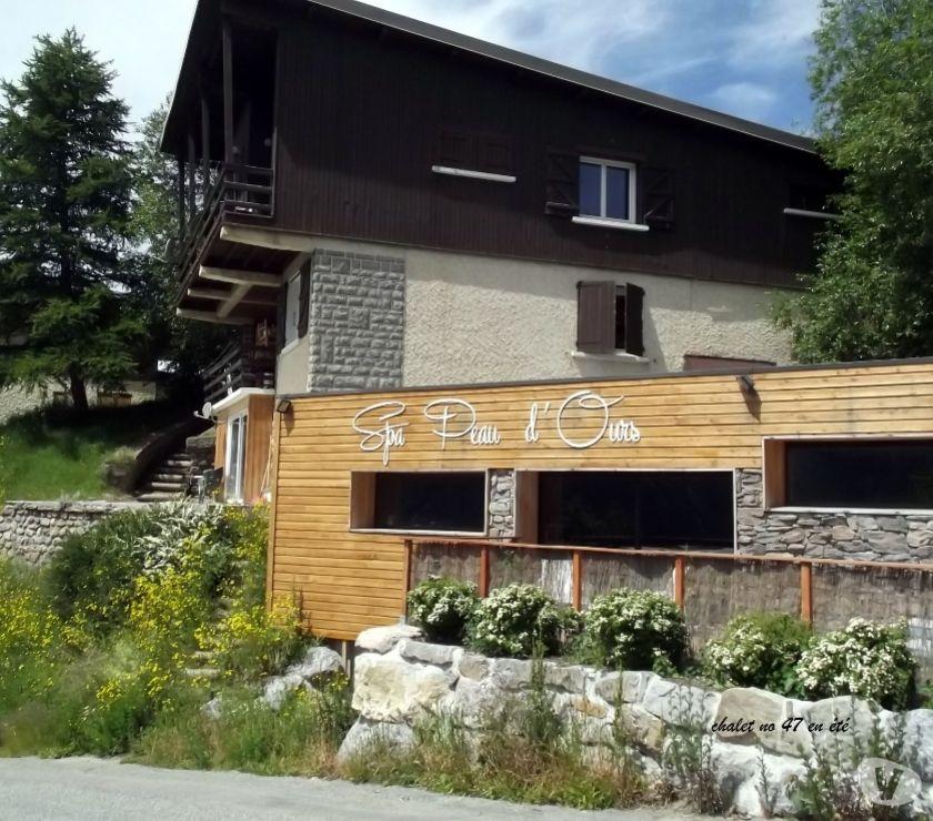 location saisonniere Hautes-Alpes Orcieres - 05170 - Photos Vivastreet CHALET- Orienté SUD- VUE PANORAMIQUE sur VALLEE et MONTAGNE