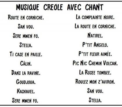 Photos Vivastreet Musiques et chants Créoles