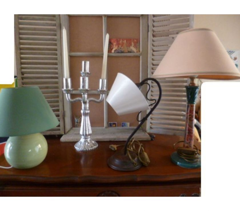 Photos Vivastreet lampe fer forgé, de chevet, chandelier - zoe