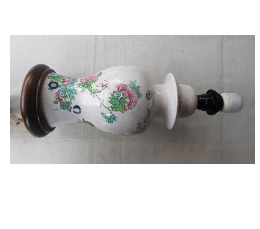 Décoration - art Hérault Castries - 34160 - Photos Vivastreet Lampe de chevet en céramique craquelée décor style asiatique