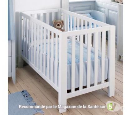 Photos Vivastreet Lit bébé banquette bois massif 60x120