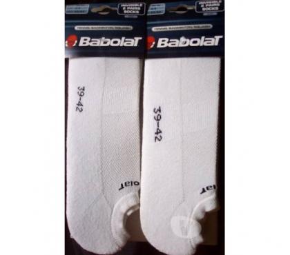 Photos Vivastreet 4 paires chaussettes sport BABOLAT 39 42 NEUVES