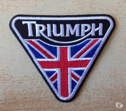 Photos Vivastreet écusson brodé patch triumph motorcycle 10x8 cm