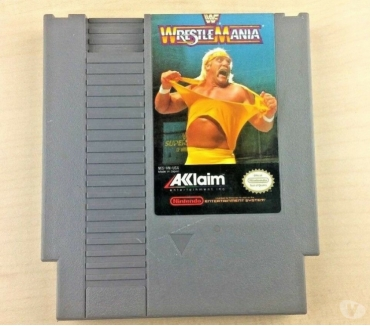 Photos Vivastreet Wrestlemania sur NES