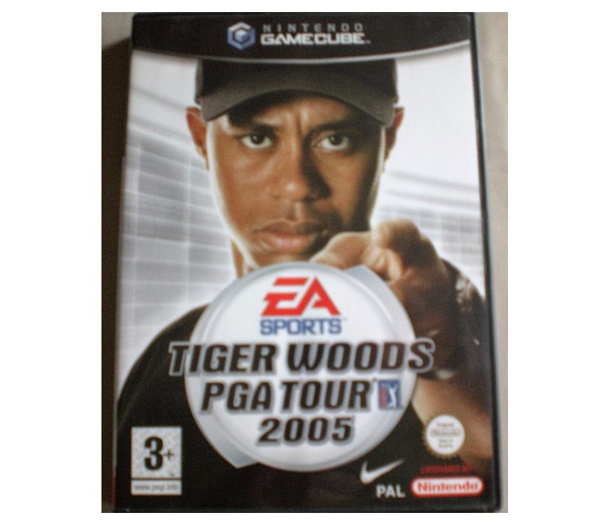 "Photos Vivastreet Jeu de GAMECUBE ""Tiger Woods - PGA Tour 2005"""