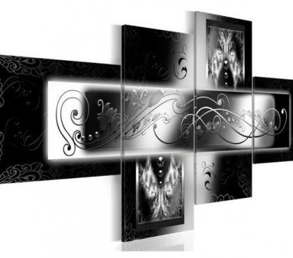 Photos Vivastreet Tableau 4en1 arabesque 100x45 cm