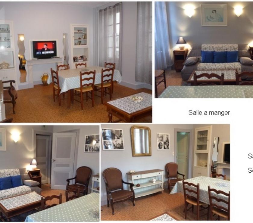 Photos Vivastreet .Location spacieux T2, CV., Jardin.Cures-Vac WIFI ..