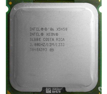 Photos Vivastreet Processeur Intel Xeon E5450 3GHz cache 12Mo bus 1333 MHz