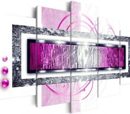 Photos Vivastreet Tableau 5en1 abstrait simple 100x50cm
