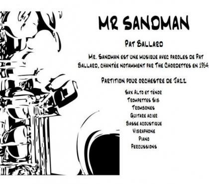 Photos Vivastreet Partition instrumentale et lyrique Mr SANDMAN