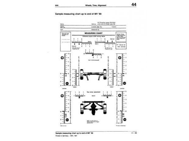 Pièces & Accessoires Auto Manuel d'Atelier Porsche 944