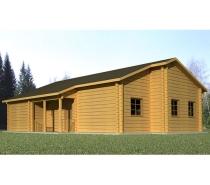 Photos Vivastreet Maison en bois massif beau design RT2012 (Amarante)